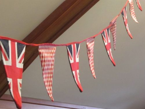 Vintage Union Jack - available to HIRE or PURCHASE by the metre