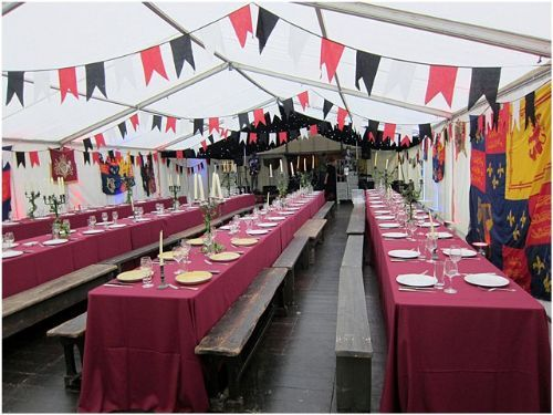 Medieval Bunting (to hire)